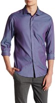 Vince Camuto Contemporary Fit Stripe Sport Shirt