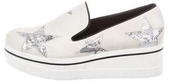 Stella McCartney Binx Star Platform Sneakers