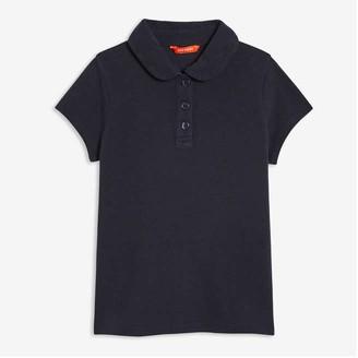 Joe Fresh Kid Girls' Uniform Polo, Dark Blue (Size L)