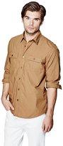 GUESS Xavier Military Regular-Fit Shirt