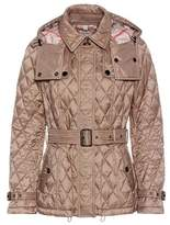 Burberry Short Finsbridge quilted jacket
