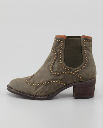 Jeffrey Campbell Lennox Studded Leather Ankle Boot