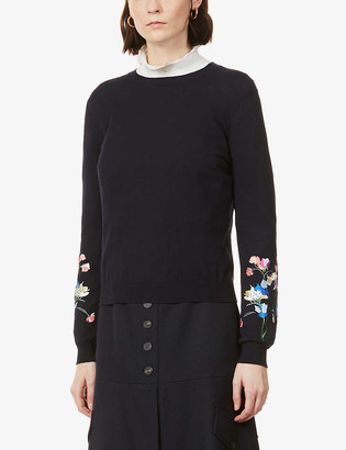 Ted Baker Peppermint cotton-knit jumper
