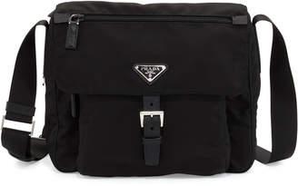 Prada Small Nylon Crossbody Bag, Black (Nero)