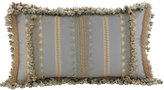 """Sweet Dreams Crystal Palace Striped Pillow, 12"""" x 21"""""""