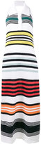 Rosie Assoulin rainbow stripe knitted dress