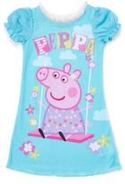 Komar Kids Blue Peppa Pig Swing Nightgown - Toddler