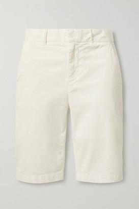 Nili Lotan Granada Stretch-cotton Twill Shorts