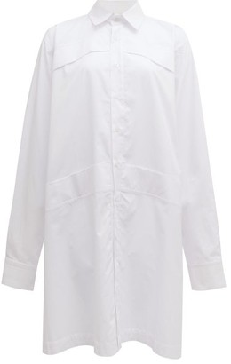 Roni Helou - Lily Oversized Cotton-poplin Shirt - White
