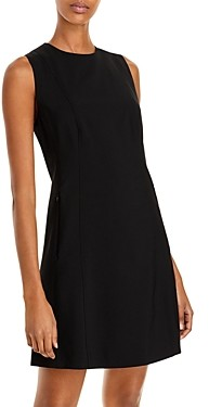 Theory Helaina Wool-Blend Shift Dress