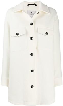 Woolrich Fringe Sleeve Coat