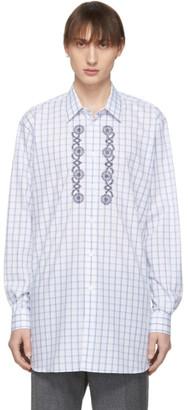 Stella McCartney Blue Embroidery Shirt