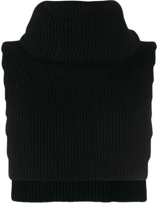 Cashmere In Love knit overlay Brooke vest