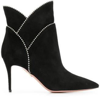 Aquazzura layered ankle boots