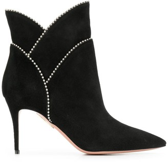 Aquazzura Layered Ankle Boots