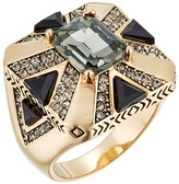 House Of Harlow Art Deco Ring