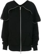 Unravel Project zipped sweatshirt