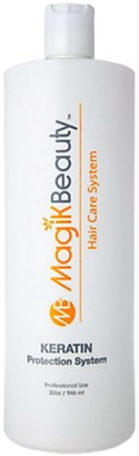 Magik Beauty Hair Care System - Keratin Straightening Treatment, 32 oz