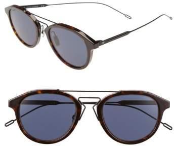 Christian Dior 52mm 'Black Tie' Sunglasses