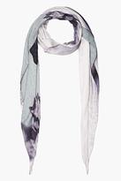 Givenchy Purple baseball skull scarf