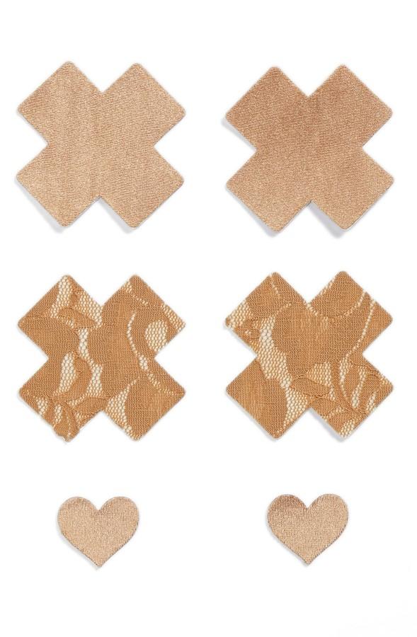 Nippies by Bristols Six Cross Nipple Covers