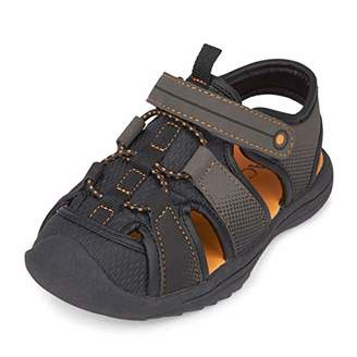 Children's Place The Boys' Grizzly Sandal Flat