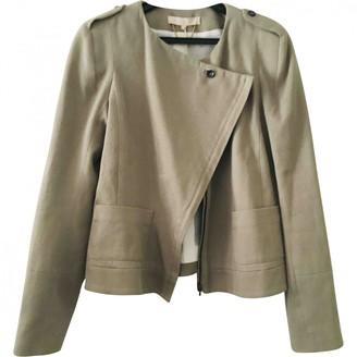 Vanessa Bruno Beige Cotton Jacket for Women
