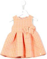 Valmax Kids - cube print dress - kids - Cotton/Acrylic/Polyamide/Polyester - 6 mth