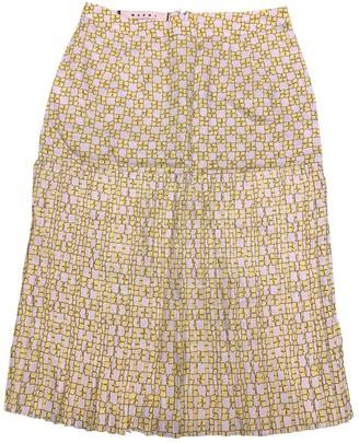 Marni Yellow Skirt for Women