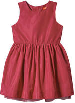 Joe Fresh Toddler Girls' Pleated Dress, Red (Size 5)