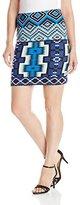 Karen Kane Women's Aquamarine Skirt