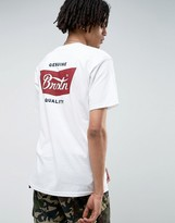 Brixton Stith T-shirt With Small Logo