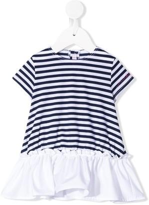Il Gufo striped T-shirt dress