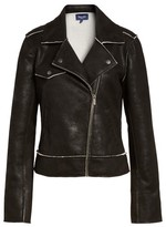 Splendid Women's Faux Leather Moto Jacket