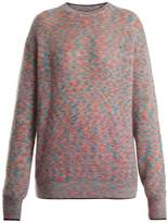 Christopher Kane Crew-neck mohair-blend knit sweater