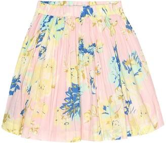 Bonpoint Suzon printed cotton skirt