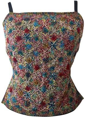 Schumacher Multicolour Silk Top for Women