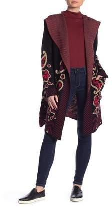Vertigo Paisley Hooded Sweater