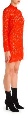 Stella McCartney Lace Long Sleeve Mini Dress