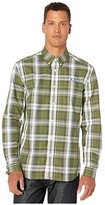 Fred Perry Twill Check Shirt (Dark Thorn) Men's Clothing