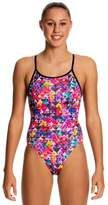 Funkita Girls Petal Prism Diamond Back One Piece