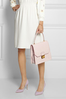Miu Miu Lady patent-leather tote