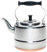 Bonjour Tea Stainless Steel and Copper-Base Gooseneck Tea Pot-2 quart