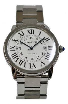 Cartier Ronde Solo White Steel Watches