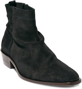AllSaints Harris Mid Zip Boot