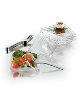 Jay Import Clear Soho 13 Piece Taster Plate Set