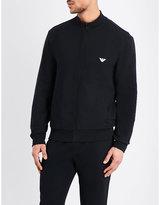 Emporio Armani Zip-up Cotton-terry Jacket