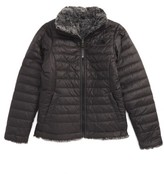 The North Face Girl's Mossbud Reversible Heatseeker(TM) Wind Resistant Jacket