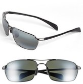 Maui Jim Men's 'Maliko Gulch - Polarizedplus2' 65Mm Sunglasses - Gunmetal