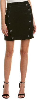 The Kooples Buttons All Over Mini Skirt